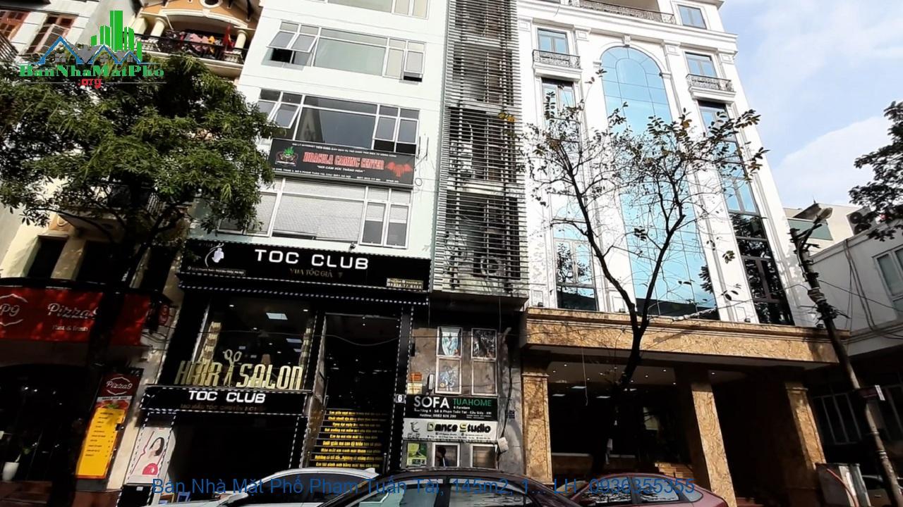 Bán nhà mặt phố Hoàng Văn Thái, Thanh Xuân: 145m2 x 9 tầng thang máy, thông sàn, sổ đỏ nở hậu