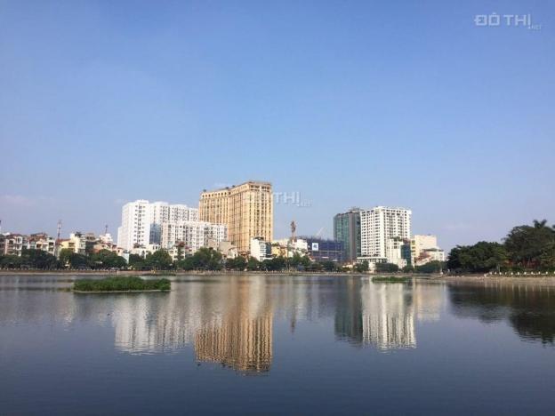Bán nhà mặt phố Nguyễn Đình Thi 101m2, mặt tiền 7m, SĐCC nở hậu, KD cực tốt