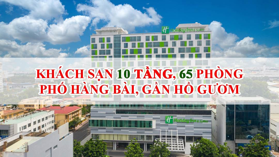 Bán khách sạn mặt phố Hàng Bài, 65 phòng, DT 374m2, MT 10m