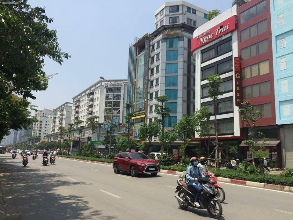 [SỐC] Bán nhà mặt phố Xã Đàn, Đống Đa, mặt tiền 5.5m giá 331 triệu/m2, 6 tầng, thang máy
